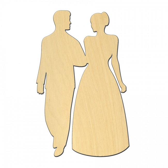"""Wooden pc. for art 515 """"Couple"""" 7х11 cm"""