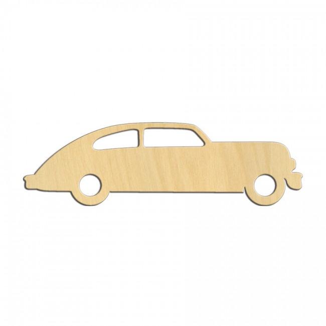 """Wooden pc. for art 528 """"Vintage car"""" 13х3,8 cm"""