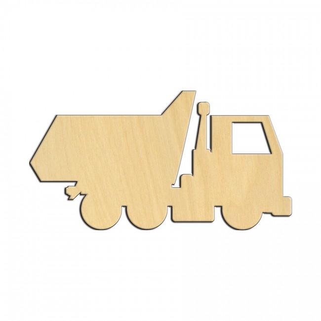 """Wooden pc. for art 529 """"Truck"""" 11х5,8 cm"""