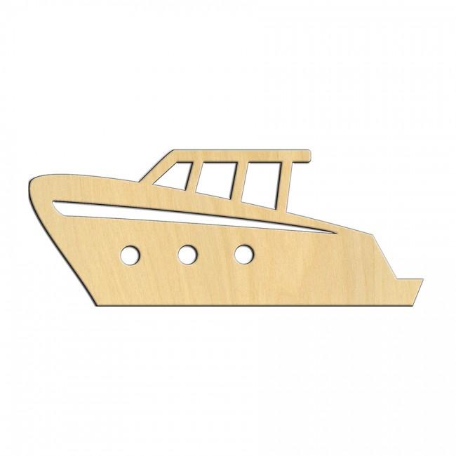 """Wooden pc. for art 530 """"Boat"""" 13х5,2 cm"""