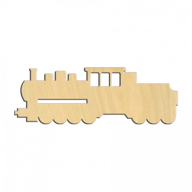 """Wooden pc. for art 533 """"Locomotive №1"""" 12х4,2 cm"""
