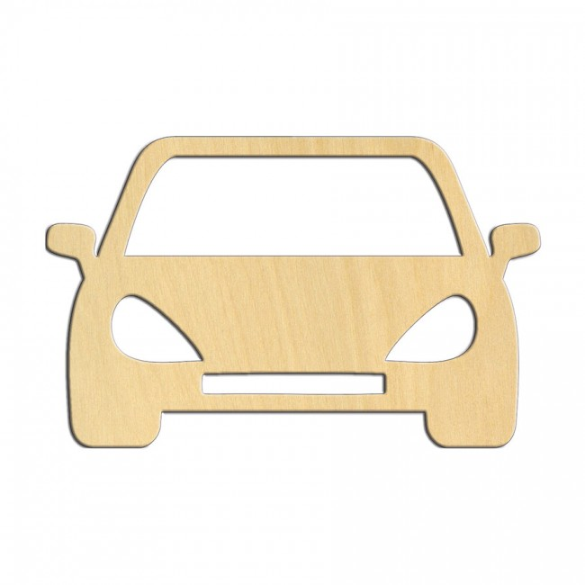 "Wooden pc. for art 535 ""Car"" 10,5х6,6 cm"
