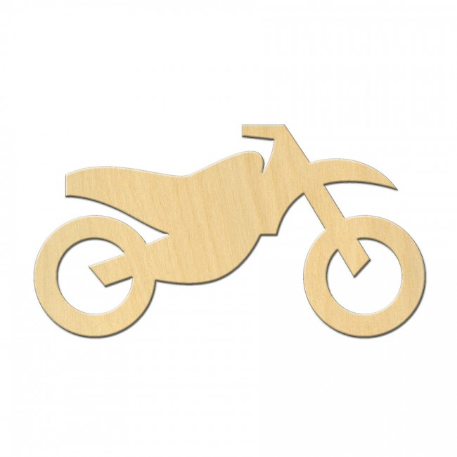"Wooden pc. for art 536 ""Motorcycle №1"" 11х6 cm"