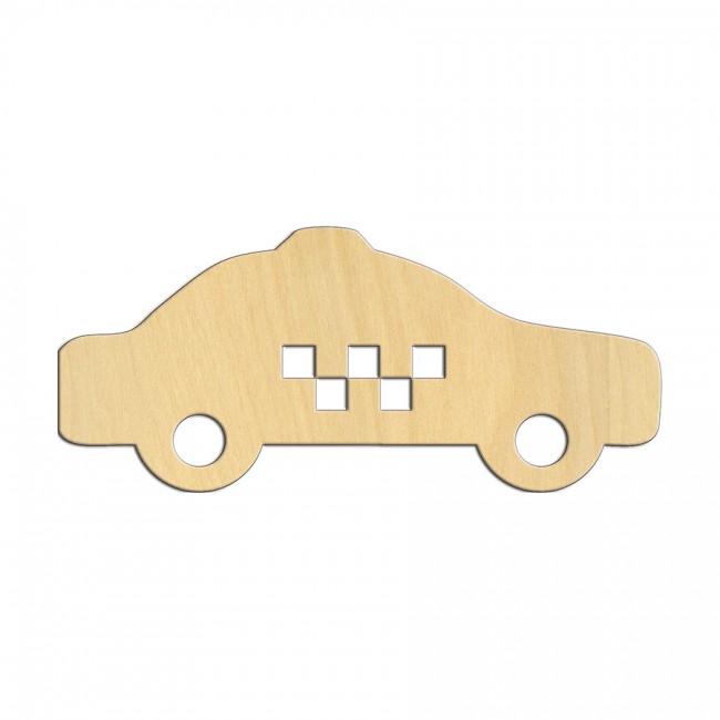 """Wooden pc. for art 542 """"Taxi"""" 12,5х5,5 cm"""
