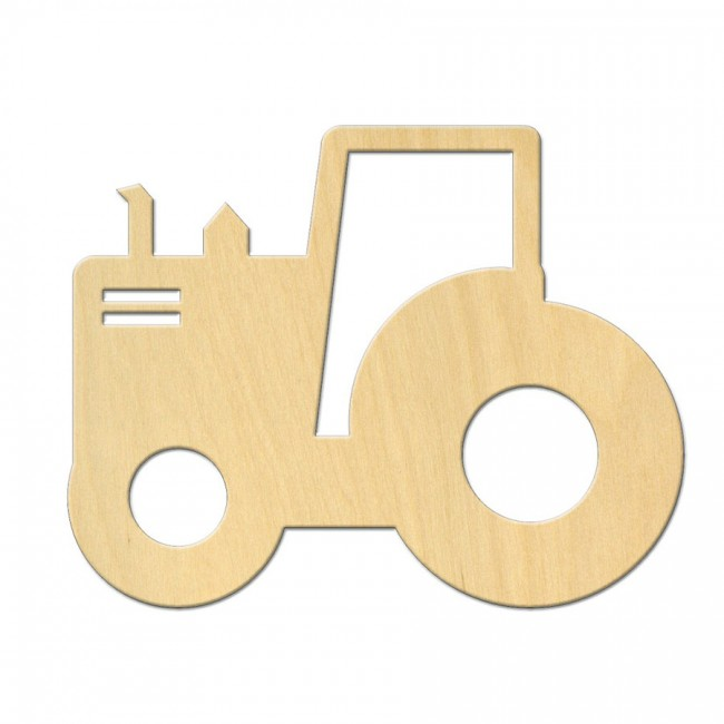 "Wooden pc. for art 543 ""Tractor"" 10х7,8 cm"