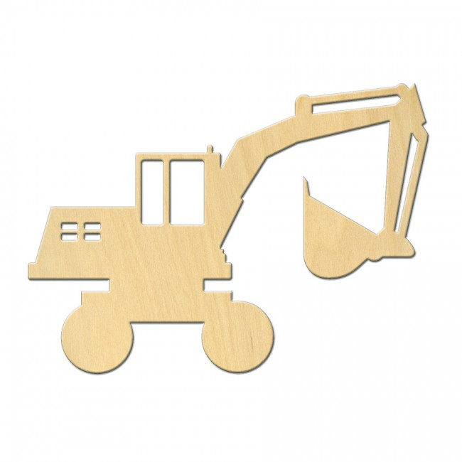 "Wooden pc. for art 545 ""Excavator"" 11,5х8,4 cm"
