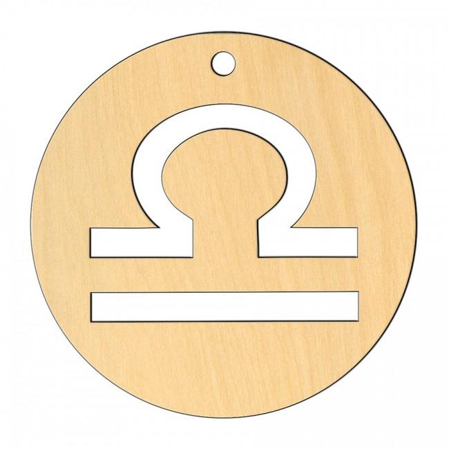 """Wooden pc. for art 553 """"Libra"""" 8х8 cm"""