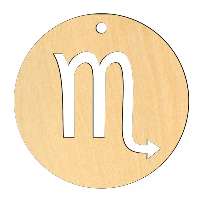 "Wooden pc. for art 554 ""Scorpio"" 8х8 cm"