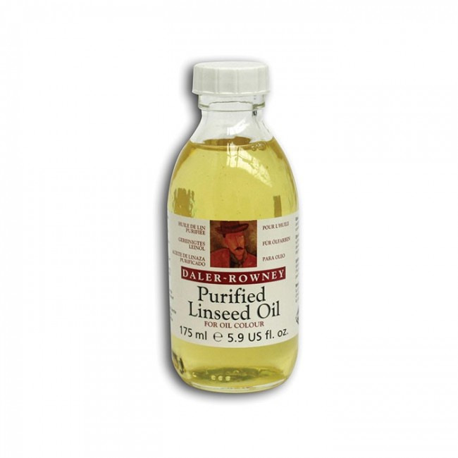 PURIFIED LINSEED OIL 175ML