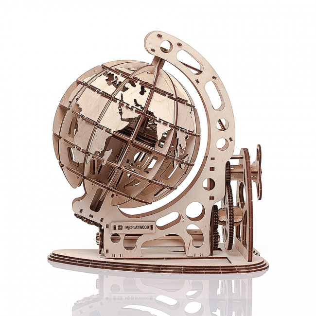 Mechanical Wooden model Globe