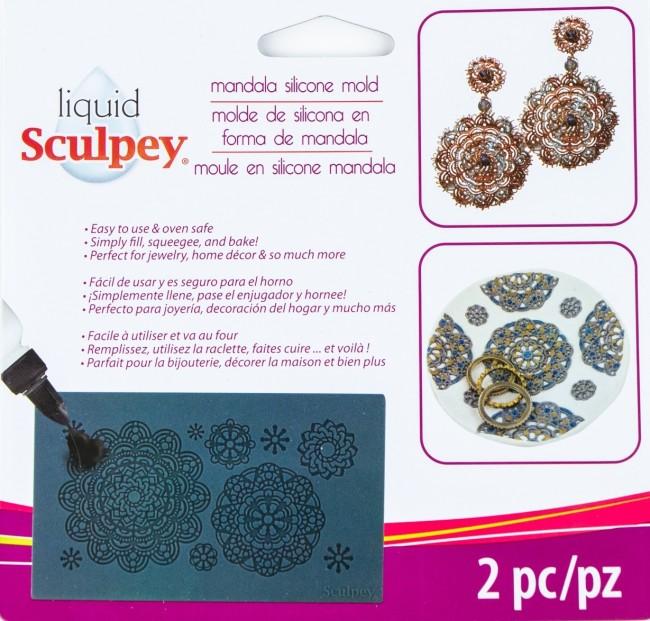 Sculpey Silicone Bakeable Mold – Mandala