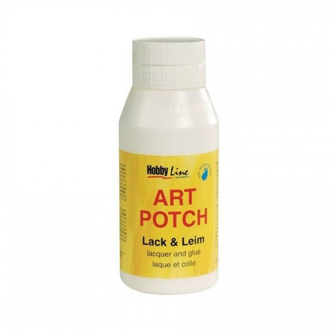 Lacquer + Glue 750Ml, Art Potch, C.Kreul