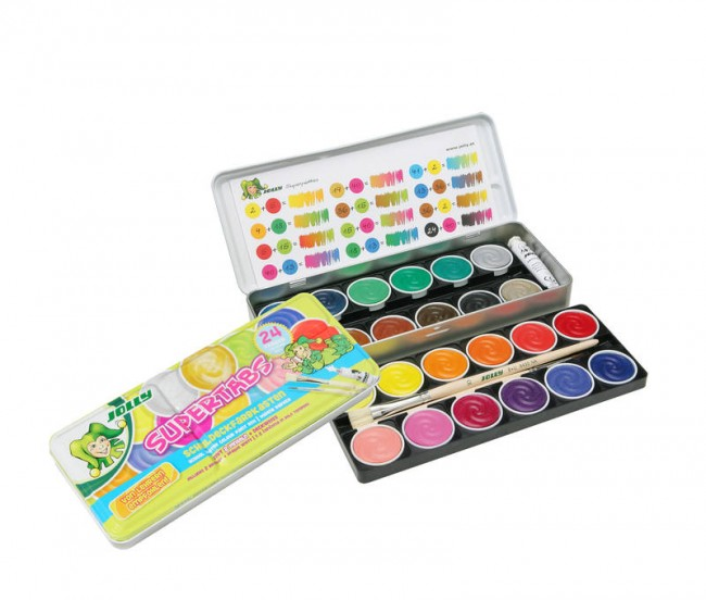 "Watercolour Set,""Jolly"" 24 colours"