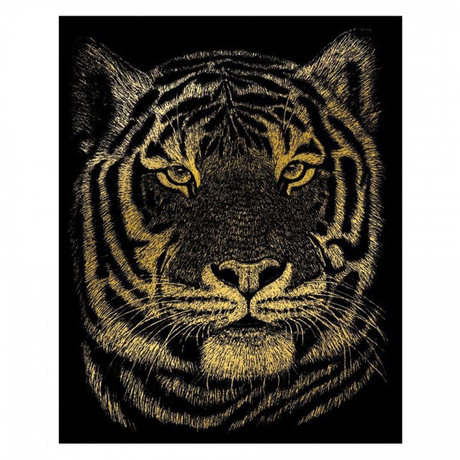Bengal Tiger Gold  Foil