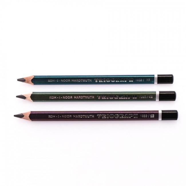"""Graphite pencils """"TRIOGRAPH"""",  KOH-I-NOOR"""