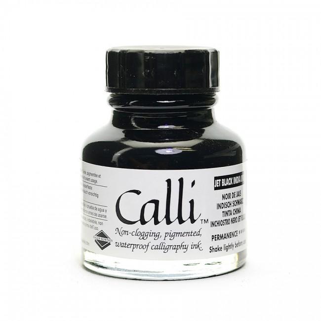 Calligraphy Ink Calli Jetblack 29,5Ml,Daler-Rowney