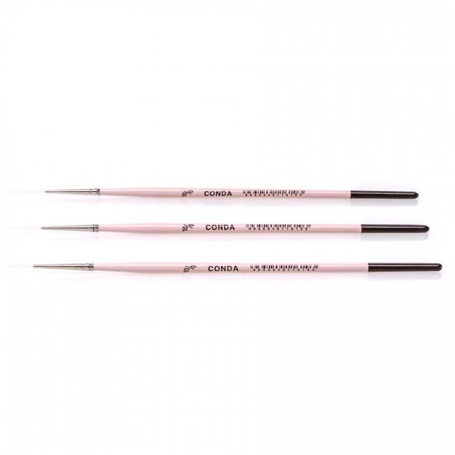 Synthetic brushes, round, liner