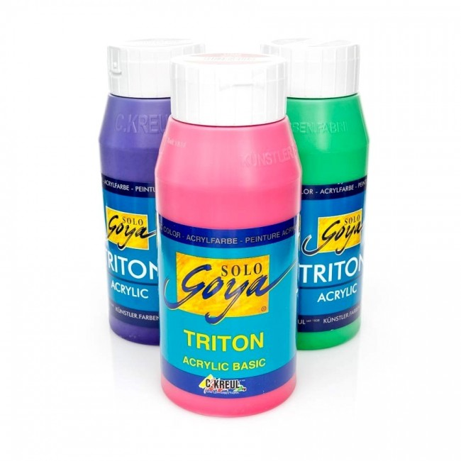 "Acrylic paints ""TRITON"" 750 ml, C.Kreul"