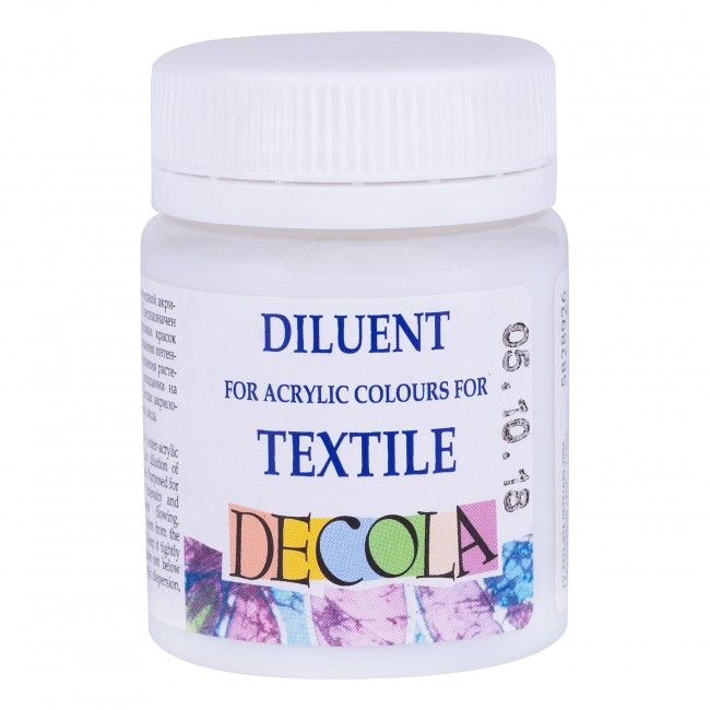 Diluent for acrylic colours for textile Decola 50ml