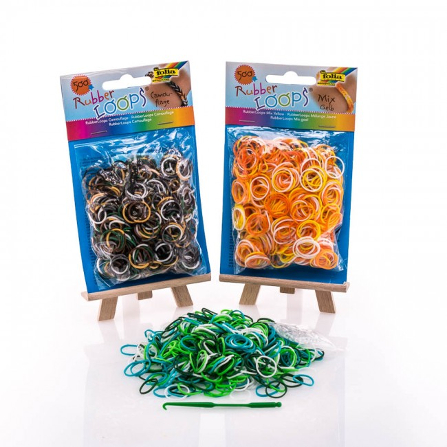 Rubber Loops 500 pcs