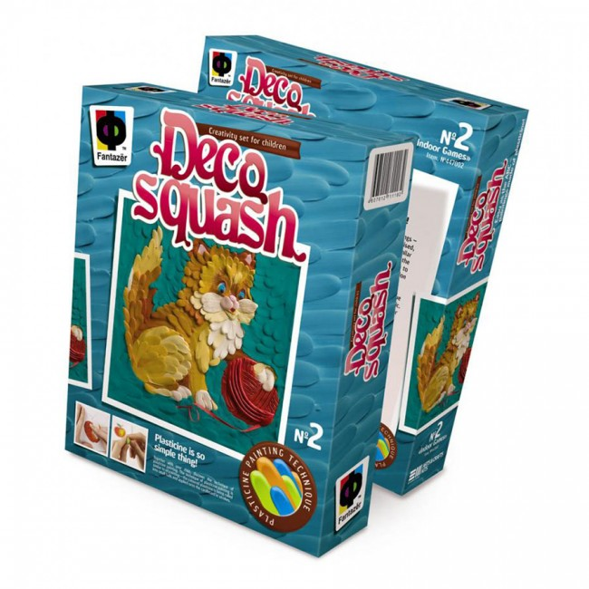 447002Е The Set Deco Squash «Kitty With A Clew»