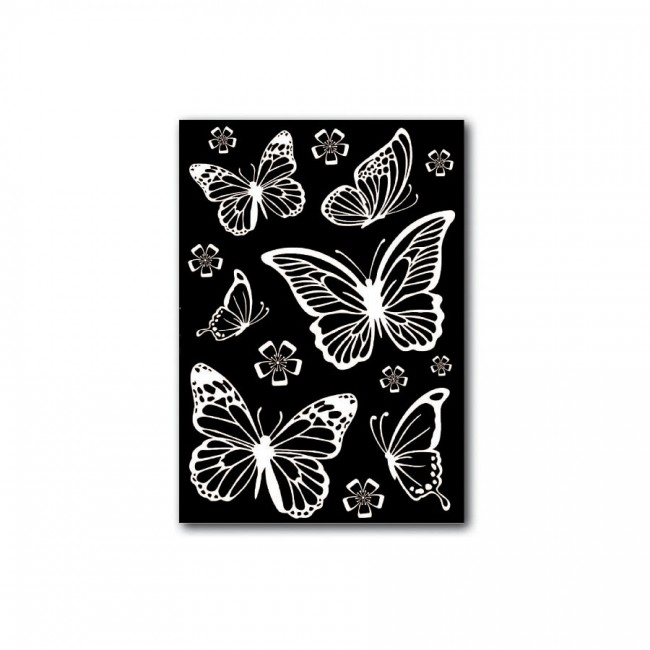 Decotransfer -  A5Size - Butterflies