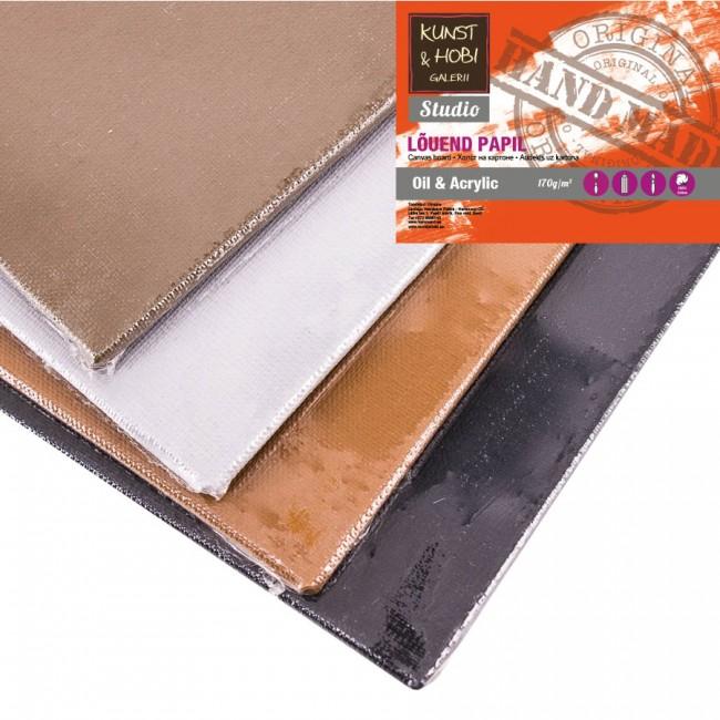 Primed canvas boards (cotton) KUNST&HOBI (colored)