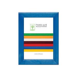 Wooden frame with glass 15х21 D18KL/3742 (dark blue)