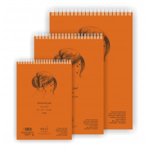 UNIVERSAL SKETCH PAD AUTHENTIC (mixed media)A5, 40 sheets,200gsm