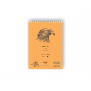 SKETCH PAD AUTHENTIC (Kraft)A4, 60 sheets,90gsm