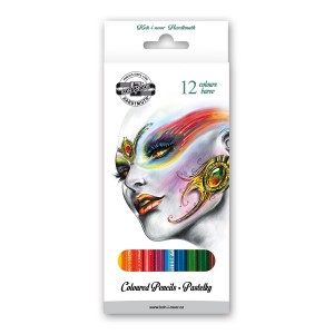 "Set of Coloured pencils  12pcs""FANTASY"""