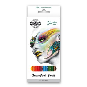 "Set of Coloured pencils  24pcs""FANTASY"""