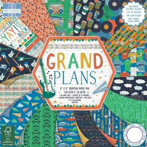 First Edition 8x8 FSC Paper Pad Grand Plans