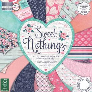 First Edition 12x12 FSC Paper Pad Sweet Nothings