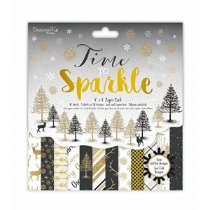 Dovecraft Time To Sparkle FSC 8X 8 Paper Pad