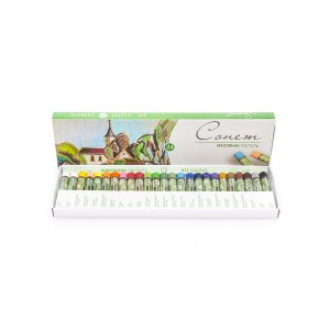 "Sets Of Oil Pastels ""Sonet"", 24Pcs"