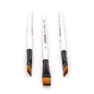 Synthetic brushes, flat Daler-Rowney