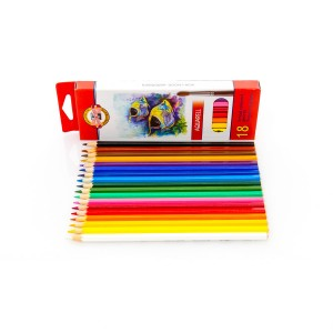 Set Of Aquarell Col-Pencils 18 Pcs