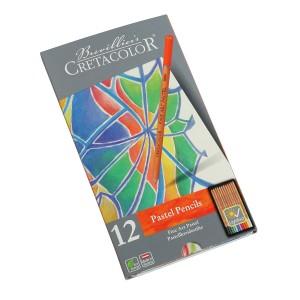 Set Fine Art Pastel, Tin Box, 12Pcs, Cretacolor