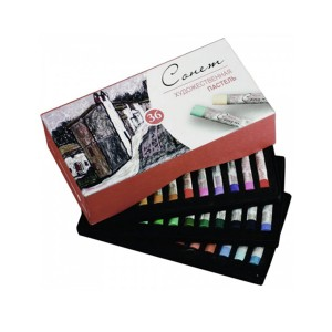 "Sets Of Soft Pastels ""Sonet"", 36Pcs"