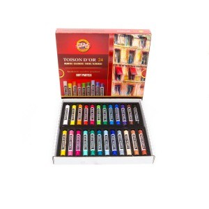 Sets Of Soft Pastels Koh-I-Noor, 24Pcs