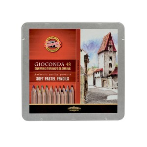 Set Of Artistic Dry Chalks 48Pcs, Koh-I-Noor