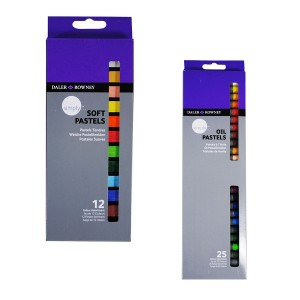 "Sets Of Soft Pastels ""Simply"", 12Pcs, Daler-Rowney"