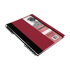 Sketchbook CACHET ARTIST?S A4 ,40sh,160g/m , Daler-Rowney,Berry