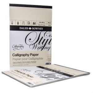 "Calligraphy Pad A4 ""Daler-Rowney"""
