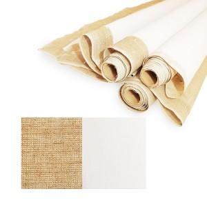 Primed Linen Canvas, Medium Grain, Width 2X10M