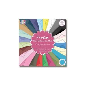 Paper and Cardstock pads 30x30cm, Premium Textured Cardstock