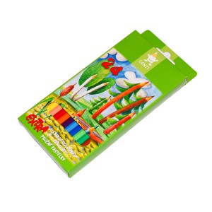set of plastic coloured pencils 2164 24