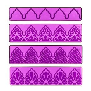 Prдgebordьren Textured Lace Set No. 100
