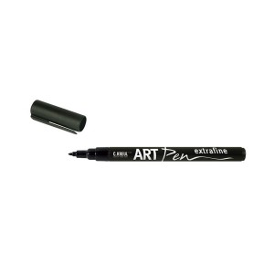 Art Pen Brush,Black